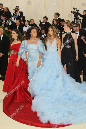 Editorial picture of The Costume Institute Benefit Celebrating the exhibition 'Heavenly Bodies: Fashion and The Catholic Imagination' on view from May 10 through October 8, 2018, Met Gala, New York, USA - 07 May 2018
