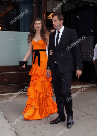 Stock Picture of Michelle Alves, Guy Oseary