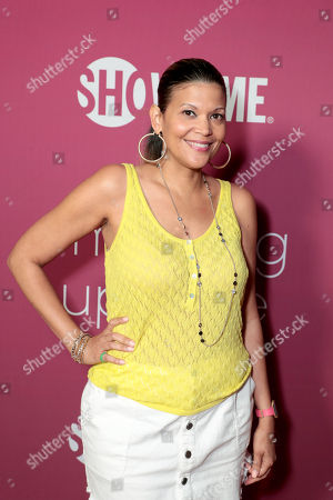 Aida Rodriguez pictured at I'M DYING UP HERE SEASON 2 Premiere celebration at Good Times at Davey Wayne's in Hollywood, CA.