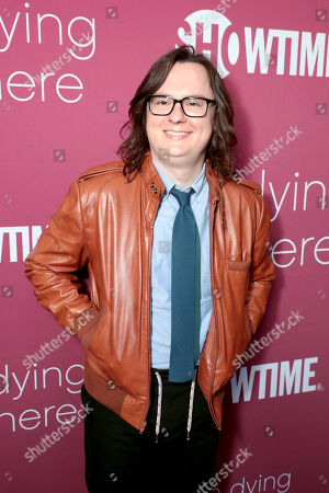 Clark Duke pictured at I'M DYING UP HERE SEASON 2 Premiere celebration at Good Times at Davey Wayne's in Hollywood, CA.