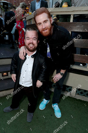 Stock Picture of Brad Williams and Andrew Santino