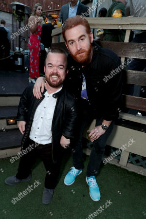 Brad Williams and Andrew Santino