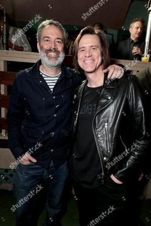 Michael Aguilar, Executive Producer, and Jim Carrey, Executive Producer,