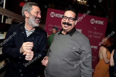 Michael Aguilar, Executive Producer, and Erik Griffin