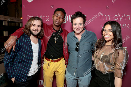 Michael Angarano, RJ Cyler, Jon Daly and Ginger Gonzaga