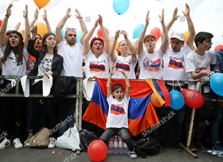 Editorial picture of Politics, Yerevan, Armenia - 08 May 2018
