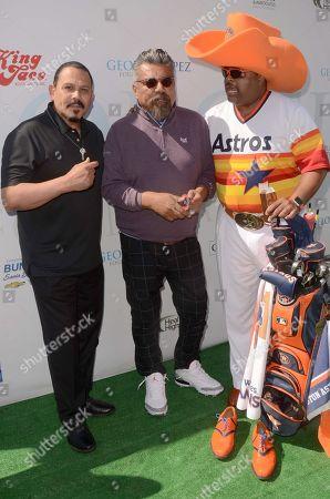 Emilio Rivera, Roland Martin, George Lopez
