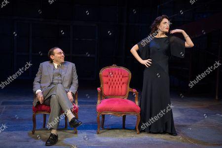 Ben Caplan as Isaac, Rebecca O'Mara as Yevgenia
