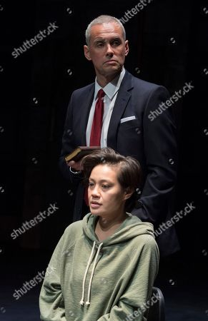 Stock Picture of Wendy Kweh as Mariya,  Steve John Shepherd as Vova