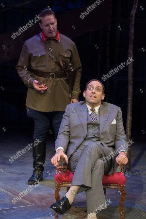 David Birrell as Nikolai, Ben Caplan as Isaac