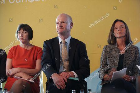 Frances O'Grady, TUC General Secretary, Lord David Willetts,   Carolyn Fairbairn