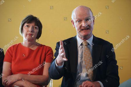 Lord David Willetts, Frances O'Grady, TUC General Secretary