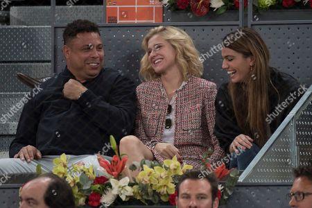 Ronaldo and his girlfriend Celina Locks with Daniella Cicarelli,.