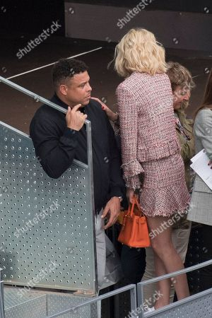 Ronaldo and his girlfriend Celina Locks.