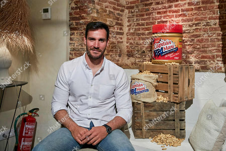 Saul Craviotto attends to 'Capitan Mani' Peanut Butter presentation at The Box