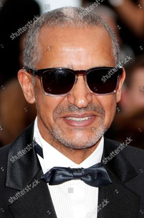 Stock Image of Abderrahmane Sissako arrives for the screening of ?Everybody Knows? (Todos Lo Saben) and the Opening Ceremony of the 71st annual Cannes Film Festival in Cannes, France, 08 May 2018. Presented in competition, the movie opens the festival which runs from 08 to 19 May.
