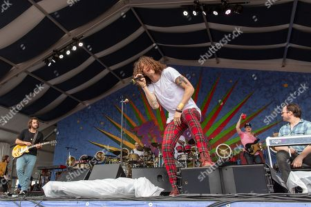 The Revivalists - Zack Feinberg, Andrew Campanelli, David Shaw, George Gekas and Ed Williams