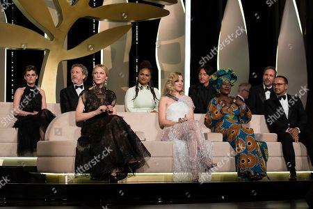 Kristen Stewart, Robert Guediguian, Ava DuVernay, Chang Chen, Denis Villeneuve, Cate Blanchett, Lea Seydoux, Khadja Nin, Andrey Zvyagintsev