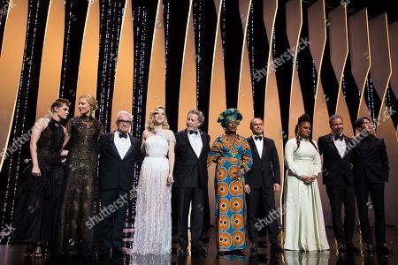 Kristen Stewart, Cate Blanchett, Martin Scorsese, Lea Seydoux, Robert Guediguian, Khadja Nin, Andrey Zvyagintsev, Ava DuVernay, Denis Villeneuve, Chang Chen