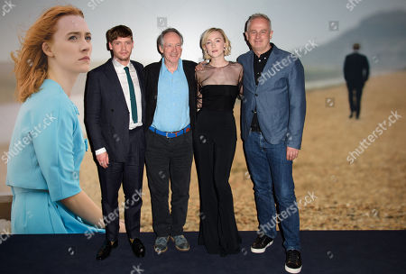 Editorial picture of 'On Chesil Beach' film screening, London, UK - 08 May 2018