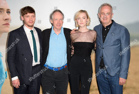 Stock Image of Billy Howle, Ian McEwan, Saoirse Ronan and Dominic Cooke
