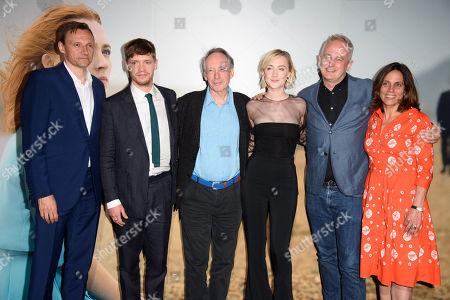 Editorial photo of 'On Chesil Beach' film screening, London, UK - 08 May 2018