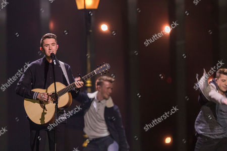 Ryan O' Shaughnessy from Ireland is performing his song 'Together'