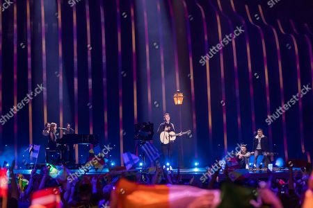 Editorial picture of Semifinals 1, Eurovision Song Contest, Lisbon, Portugal - 08 May 2018