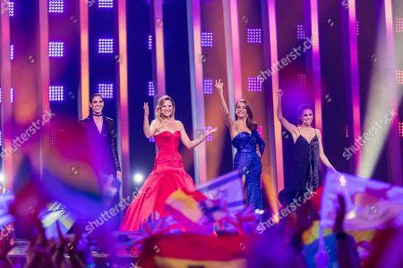 Daniela Ruah, Silvia Alberto, Filomena Cautela and Catarina Furtado