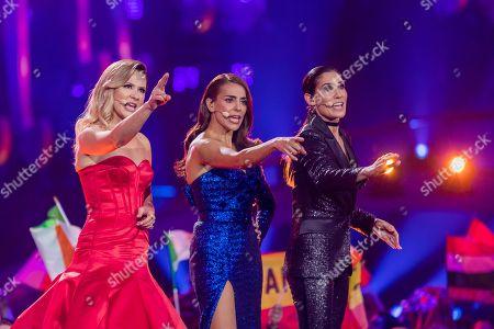 Stock Image of Silvia Alberto, Filomena Cautela and Daniela Ruah