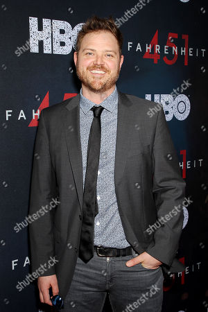 Editorial image of New York Red Carpet Premiere of HBO Films' 'FAHRENHEIT 451', New York, USA - 08 May 2018