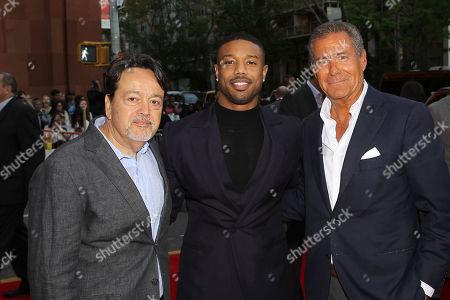 Len Amato (Pres. HBO Films), Michael B. Jordan, Richard Plepler (CEO HBO)