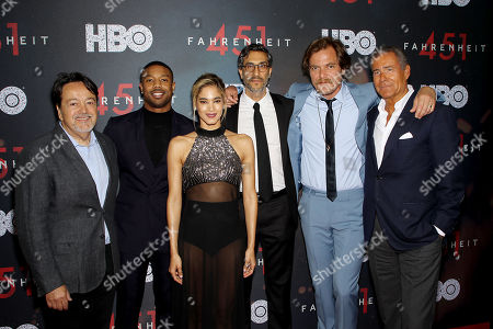 Len Amato (Pres. HBO Films), Michael B. Jordan, Sofia Boutella, Ramin Bahrani (Writer, Director,Exec. Producer), Micahel Shannon, Richard Plepler (CEO HBO)