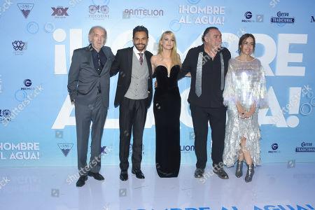 Fernando Lujan, Anna Faris, Eugenio Derbez, Jesus Ochoa and Cecilia Suarez