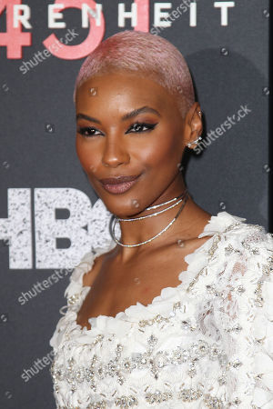 "Editorial picture of New York Red Carpet Premiere of HBO Films' ""FAHRENHEIT 451"", USA - 08 May 2018"