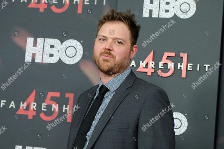 """Editorial image of New York Red Carpet Premiere of HBO Films' """"FAHRENHEIT 451"""", USA - 08 May 2018"""