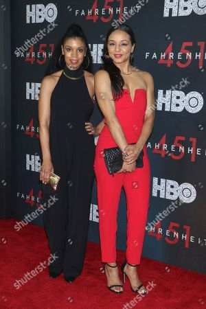 Stock Picture of Susan Kelechi Watson and Carra Patterson