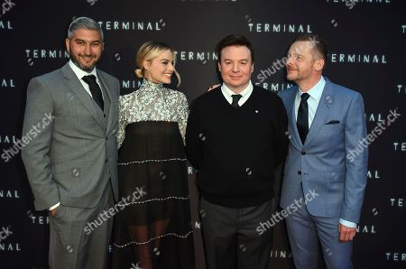 "Editorial picture of World Premiere of ""Terminal"", Los Angeles, USA - 08 May 2018"