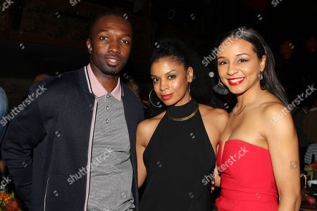 Stock Image of Jamie Hector, Susan Kelechi Watson and Carra Patterson