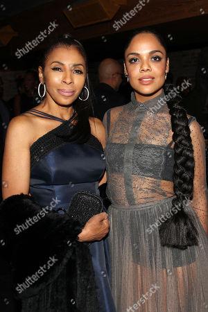 Stock Picture of Khandi Alexander and Tessa Thompson