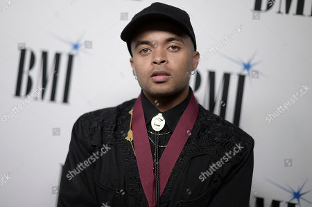 Bobby Clifton Brackins III attends the 66th Annual BMI Pop Awards at the Beverly Wilshire Hotel, in Beverly Hills, Calif