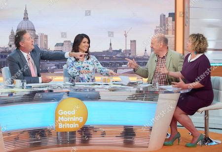Editorial image of 'Good Morning Britain' TV show, London, UK - 09 May 2018