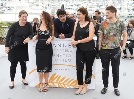 Julie Huntsinger, Virginie Ledoyen, Benicio Del Toro, Annemarie Jacir and Kantemir Balagov