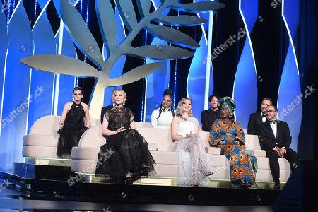 Kristen Stewart, Cate Blanchett, director Martin Scorsese and jury members, Lea Seydoux, Robert Guediguian, Khadja Nin, Andrey Zvyagintsev, Ava DuVernay, Denis Villeneuve and Chang Chen