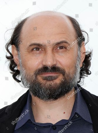 Stock Photo of Romanian actor Valeriu Andriuta poses during the photocall for 'Donbass' at the 71st annual Cannes Film Festival, in Cannes, France, 09 May 2018. The movie is presented in the section Un Certain Regard of the festival which runs from 08 to 19 May.
