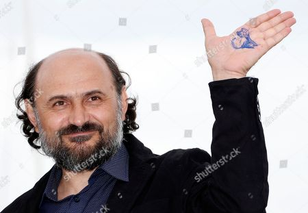 Romanian actor Valeriu Andriuta poses during the photocall for 'Donbass' at the 71st annual Cannes Film Festival, in Cannes, France, 09 May 2018. The movie is presented in the section Un Certain Regard of the festival which runs from 08 to 19 May.