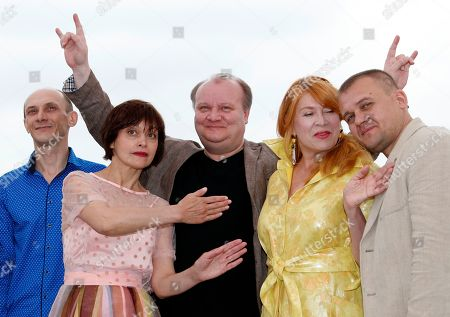 Editorial photo of Donbass Photocall - 71st Cannes Film Festival, France - 09 May 2018