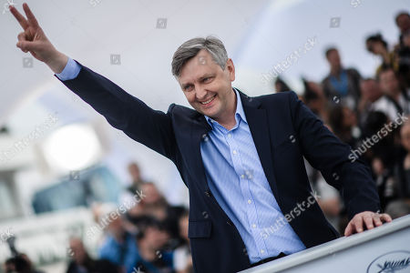Ukranian director Sergei Loznitsa poses during the photocall for 'Donbass' at the 71st annual Cannes Film Festival, in Cannes, France, 09 May 2018. The movie is presented in the section Un Certain Regard of the festival which runs from 08 to 19 May.