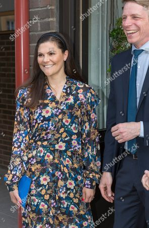 Stock Image of Crown Princess Victoria, Per Bolund