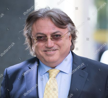 Editorial image of Robert Tchenguiz Trial, High Court, London, UK - 9 May 2018